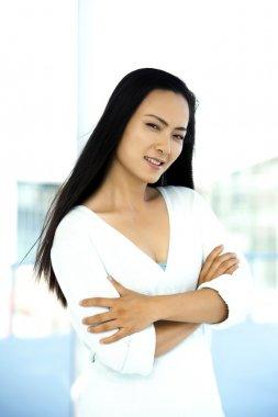 Beautiful young Chinese woman