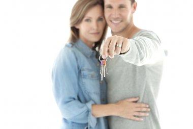 Home Keys in hand.