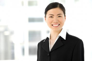 Chinese Saleswoman