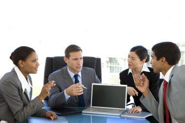Global corporate meeting