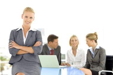 Executive woman leader