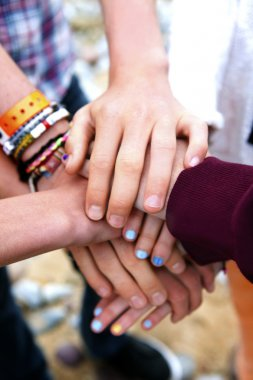 Hands commitment - Friends forever