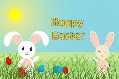 Happy Easter Spring