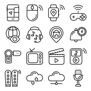 Pack of Marketing Linear Icons icon