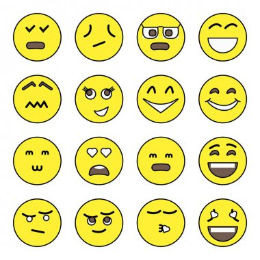 Pack of Emojis Characters Icons icon