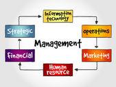Fotografie Verwaltung-Geist-Karte-Business-Strategie