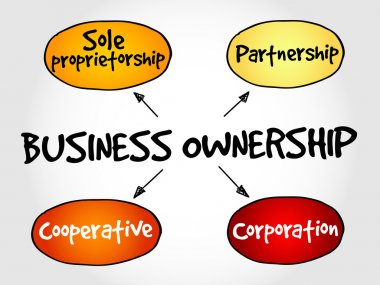 Business ownership mind map