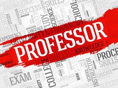 Professor word cloud