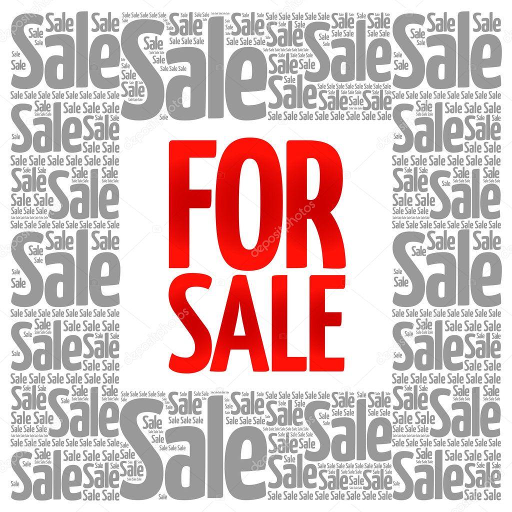 for sale words cloud stock vector dizanna 112552960