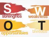 Fotografie SWOT analysis business strategy