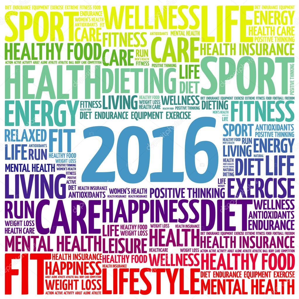 2016 health word cloud