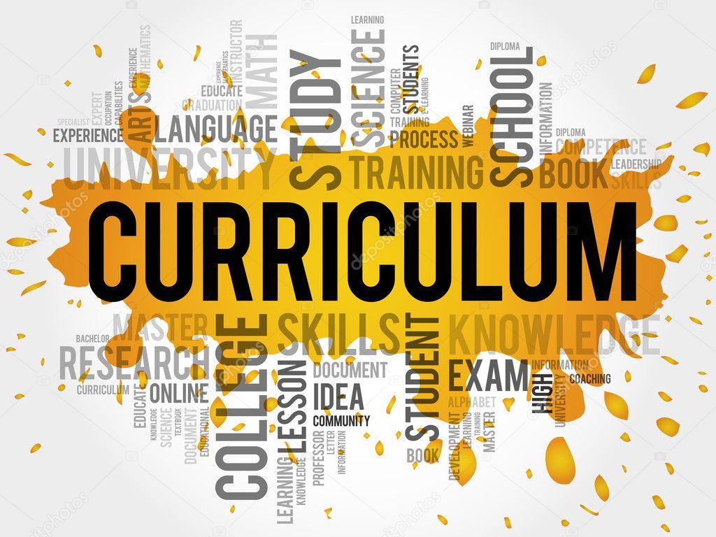 nube de word de curriculum — Fotos de Stock © dizanna #98874806