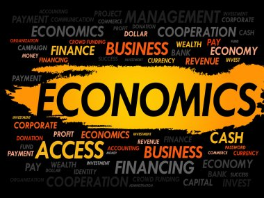 ECONOMICS word cloud
