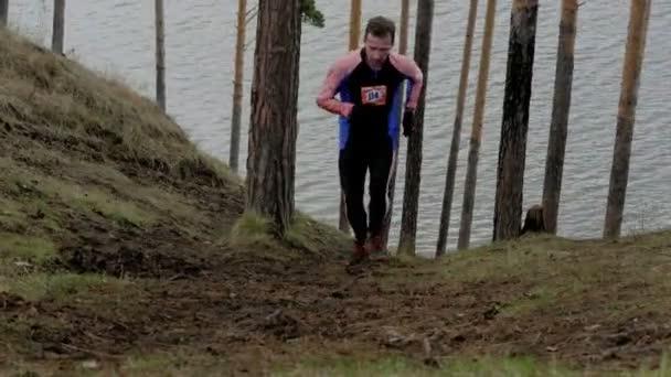 uphill athlete runner