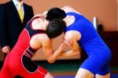 Řecko-římském zápase dva zápasníci