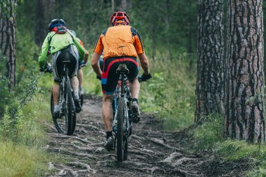 Two mountainbiker