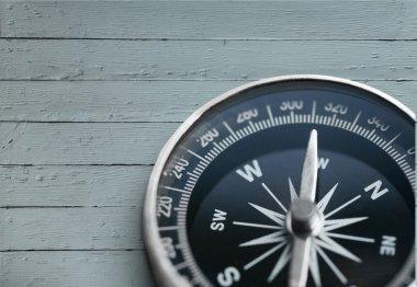 brass antique compass