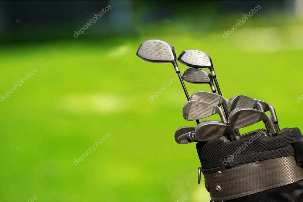d4445eeb331e7 Controladores de palos de golf — Fotos de Stock © billiondigital ...