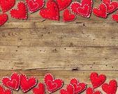 Fotografie pozadí s červeným srdcem