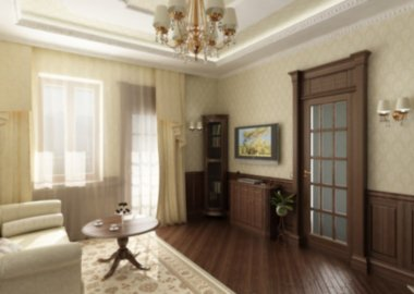 modern luxury interior of living room