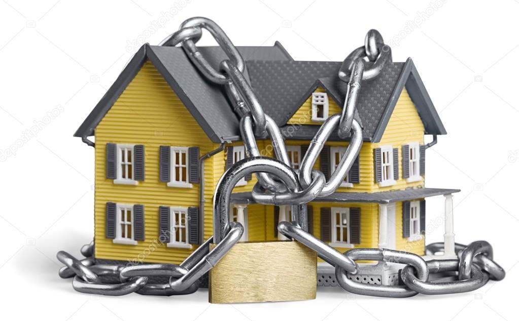 Concetto di sicurezza casa u2014 foto stock © billiondigital #114723926