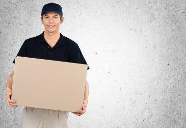 Man delivering box