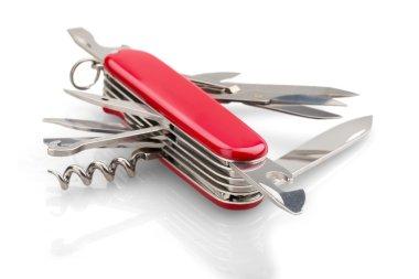 Multipurpose knife isolated