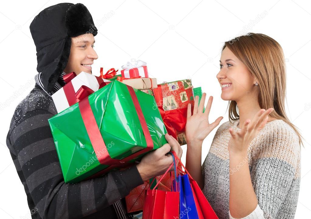 Много подарков для девушек 873