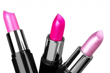Three Colorful Lipsticks