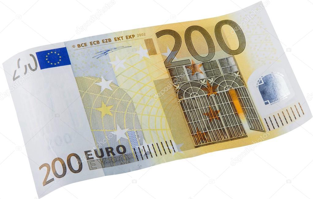 Billete de 200 euros foto de stock billiondigital for Wohnwand 200 euro
