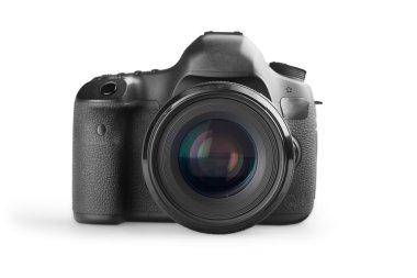 DSLR camera isolated