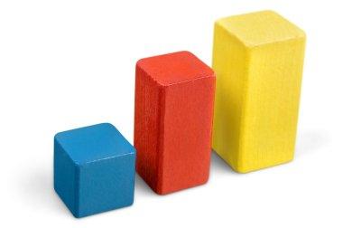 toy wooden blocks stack