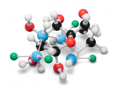 Molecular structure model