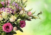 Fotografie krásnou kytici s růží