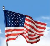 Americká vlajka pozadí