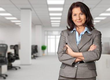 Female finance advisor