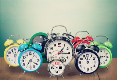 Retro alarm clocks
