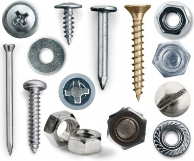 Various Screws and nuts
