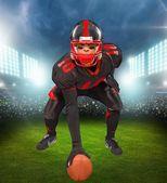Fotbal, americký fotbal, fotbalový hráč.