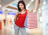 Fotografie Nakupování, kreditní karty, ženy