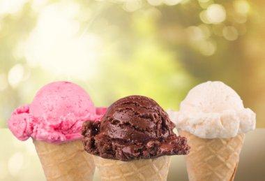 Ice Cream, Ice Cream Cone, Chocolate.