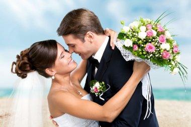 Wedding, Couple, Heterosexual Couple.