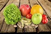 Nahrungsergänzungsmittel, Kapseln, Lebensmittel.
