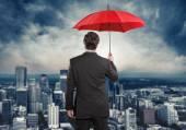 Fotografie Pojištění, deštník, pojišťovací Agent