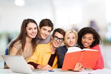 Teens, classroom, class.