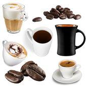 Čaj, mléko, pohár