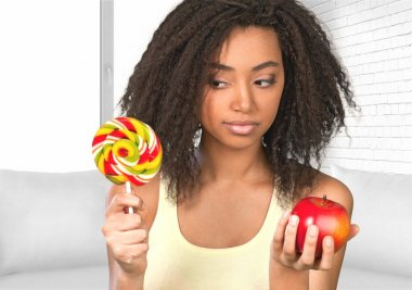 Healthy Eating, Candy, Healthy Lifestyle.