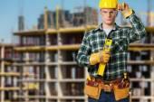 Fotografie Stavební dělník, dělník, stavba