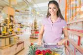 Fényképek Szupermarket, élelmiszer, vásárlás