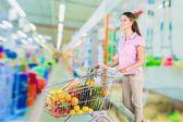 Szupermarket, élelmiszer, vásárlás.
